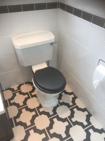 Heritage toilet and seat to match bath panel: Swipe To View More Images