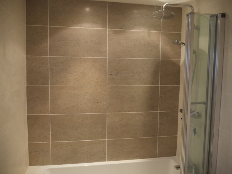 Twyfords folding shower screen: Swipe To View More Images